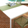 Table Rectangulaire A Rallonge L210cm Grande Arche Fast JardinChic