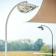 Lampadaire Chauffant Simple Hotdoor Modèle Moyen Blanc/Chrome Phormalab JardinChic