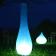 Lampe Lumin'air Bleu et Lampe Figue Bleu Paradedesign Jardinchic