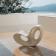 Rocking Chair Voido Blanc Brillant Ambiance Magis JardinChic