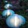 Lampes Oursin Bleu Turquoise Paradedesign Jardinchic