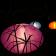 Lampes Oursin Violet, Bleu et Orange Paradedesign Jardinchic
