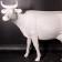 Statue Vache Blanche TexArtes Jardinchic