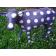 Statue Veau Violet à pois blancs TexArtes Jardinchic