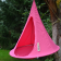 Tente Suspendue Cacoon Bonsaï Fuchsia Hang In Out JardinChic