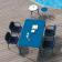 Table Rectangulaire Plateau Aluminium & Fauteuils Yard Emu JardinChic