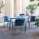 Fauteuils & Table Carrée Pliable Yard Emu JardinChic