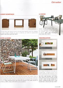 Parution Home Design Tendance Premières terrasses Mai Juin 2015