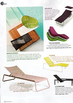 Extérieurs Design Juillet 2015 15 chaises longues incontournables