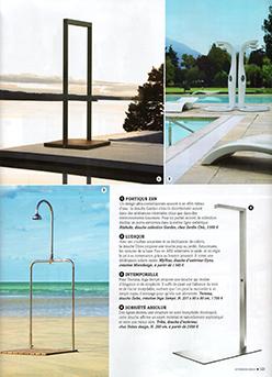 Extérieurs Design Juillet 2015 A la douche