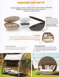 Parution Extérieurs Design Juillet Août 2016 JardinChic L'heure de la sieste