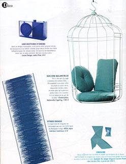 Parution Extérieurs Design Juillet Août 2016 JardinChic Le grand bleu