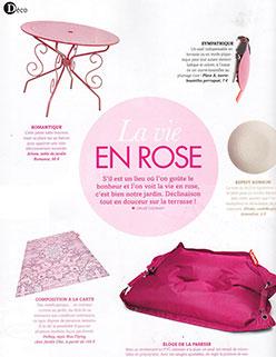 Parution Extérieurs Design Mai Juin 2016 JardinChic La vie en rose