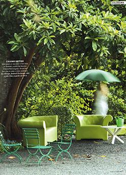 Extérieurs Design Septembre Octobre 2015 Mettez-vous au vert