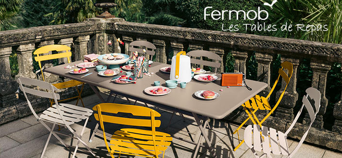 Les Tables de Repas Fermob Jardinchic